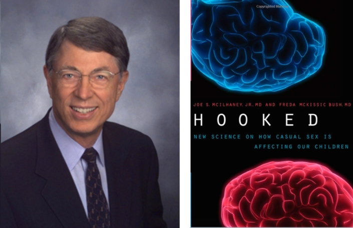 Dr. Joe McIlhaney co-authored the book, Hooked: New Science on How Casual Sex is Affecting Our Children
